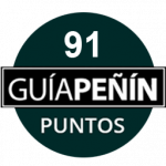 91 points, vintage 2006. Guía Peñín 2018, Spain.
