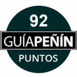92 Points, vintage 2.004, Guía Peñín 2.012, Spain.