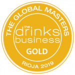 "Gold Medal, vintage 2009, ""Rioja Masters 2019"" The Drinks Business"
