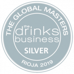 "Silver Medal, vintage 2014, ""Rioja Masters 2019"" The Drinks Business"