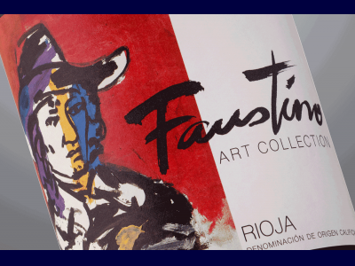 Etiqueta de Faustino Art Collection
